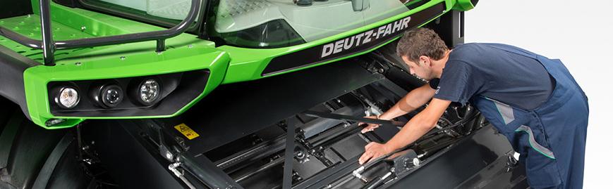 serwis gwarancyjny i pogwarancyjny Deutz Fahr oraz innych maszyn rolniczych